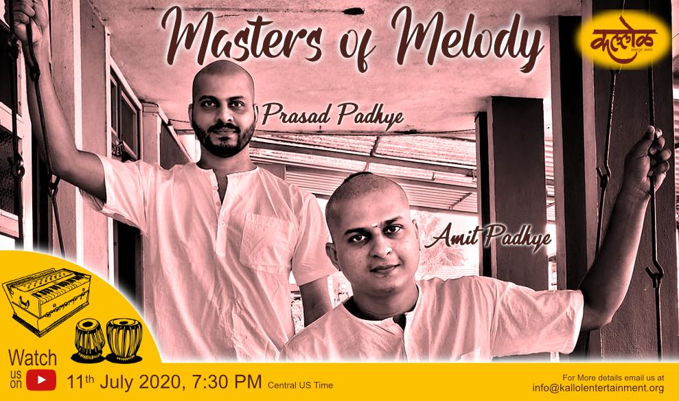 Masters of Melody – Amit Padhye & Prasad Padhye